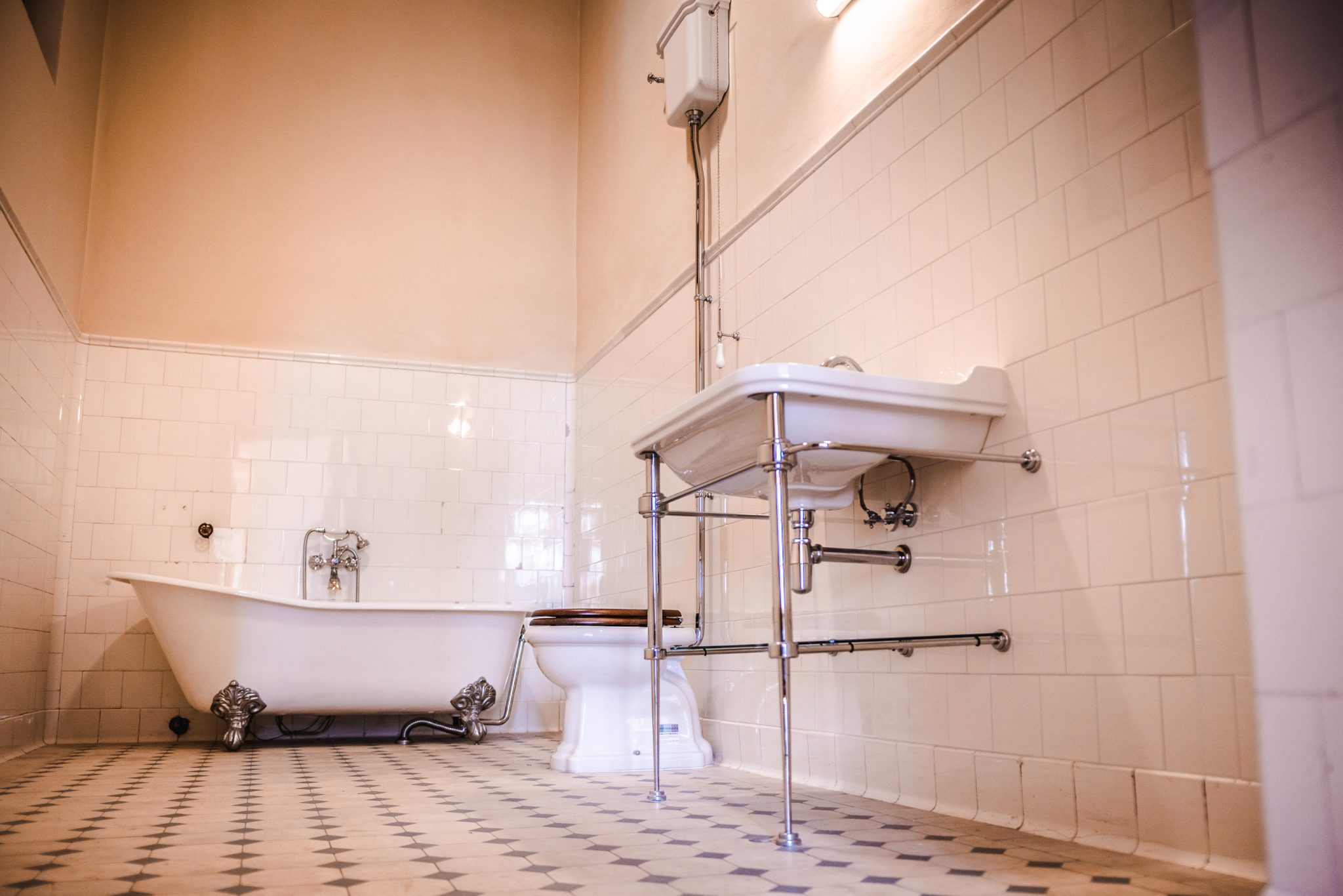 BUNG Zámek Doksy koupelna WC