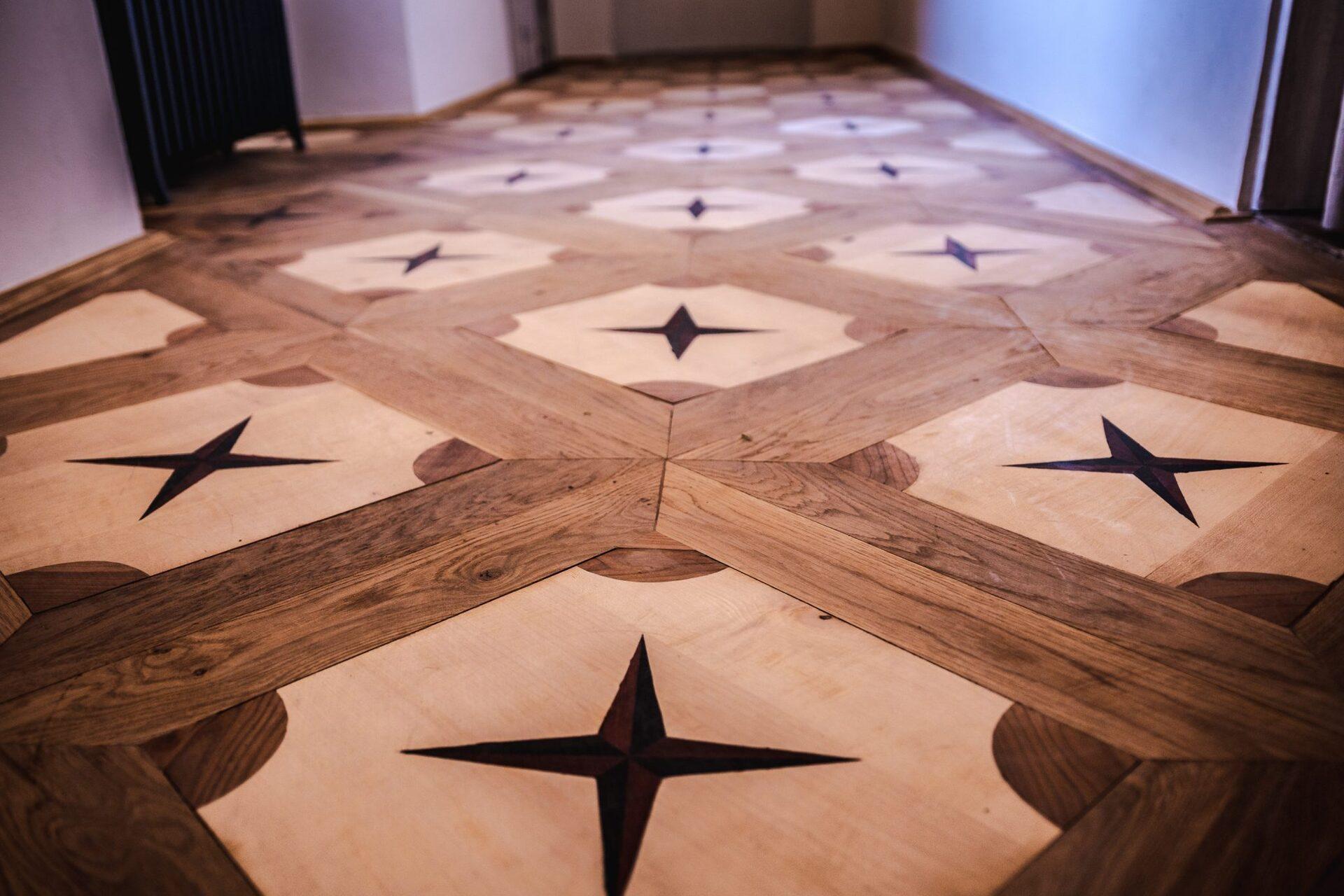 BUNG Zámek Doksy renovace podlahy